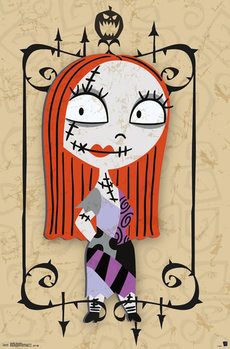 Poster  Nightmare before Christmass - Sally