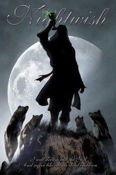 Nightwish - 7 days to the wolves Poster