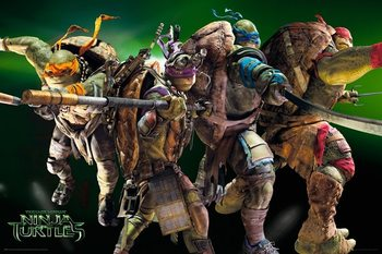 Ninja Turtles Movie - Group Poster
