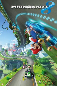 Nintendo - mario kart 9 Poster