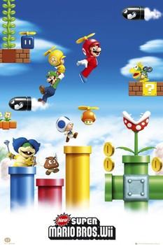 Nintendo - mario & luigi Poster
