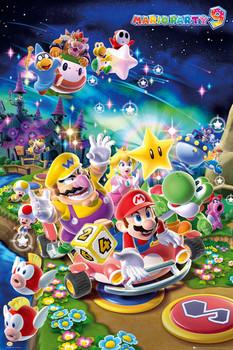 Nintendo - Mario party 9 Poster