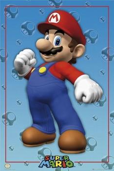 Nintendo - super mario Poster