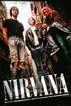 Nirvana - alley Poster, Art Print