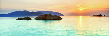 Ocean – sunrise Poster