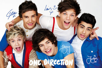 Poster One Direction - colours
