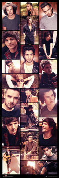 One Direction - Grid Poster, Art Print
