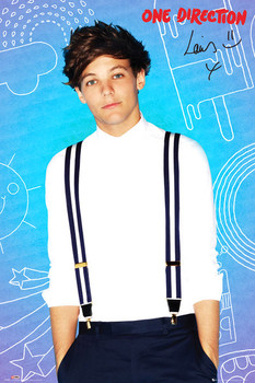 One Direction - louis pop Poster