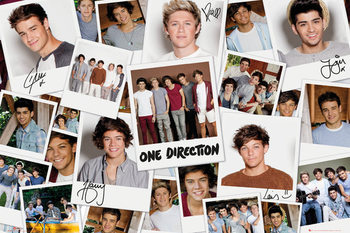 One Direction - Polaroids Poster, Art Print