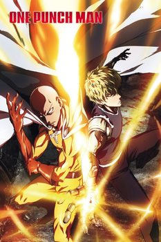 One Punch Man - Saitama & Genos Poster