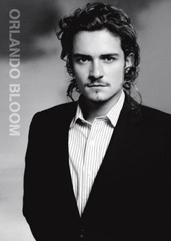 Orlando Bloom - suit Poster