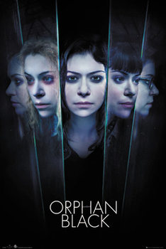 Poster Orphan Black - Faces