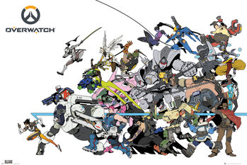Poster Overwatch - Battle