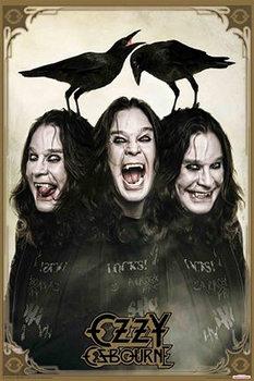 Ozzy Osbourne - crows Poster