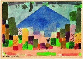 P.Klee - Der Niesen Art Print