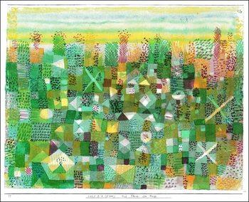 P.Klee - Die Flora Der Heide Art Print