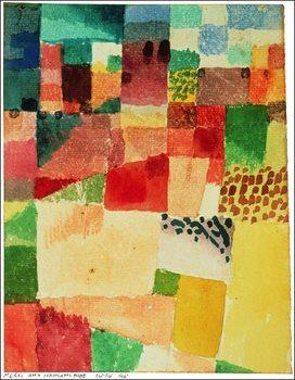 P.Klee - Disegno Su Hamammet Art Print