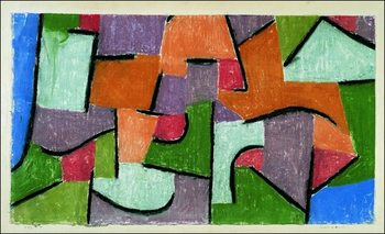 P.Klee - Uber Land Art Print
