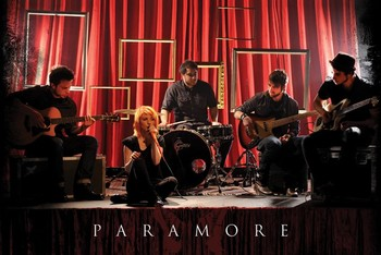 Paramore - curtains Poster