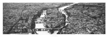 Paris - L'ile de la Cité Art Print