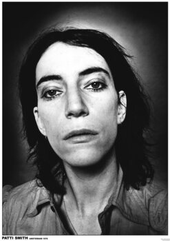 Poster Patti Smith - Close Up Face