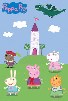 Poster Peppa Pig - Fairytale