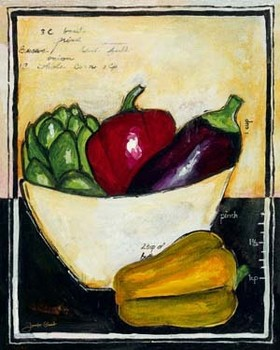 PEPPERS Art Print