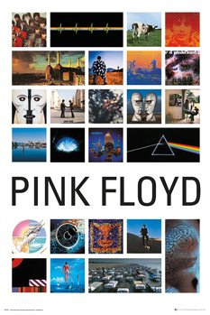 Pink Floyd - Collage Poster