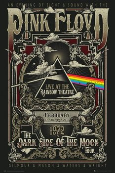 Pink Floyd - Rainbow Theatre Poster