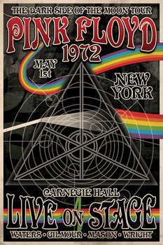 Pink Floyd - Tha Dark Side of the Moon Tour Poster