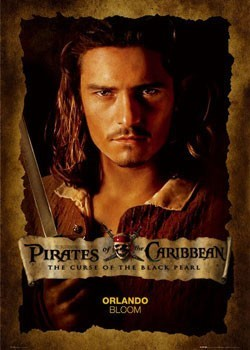 PIRATES OF CARIBBEAN - bloom close up Poster, Art Print