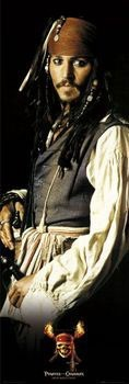 PIRATES OF THE CARIBBEAN - johny depp Poster, Art Print