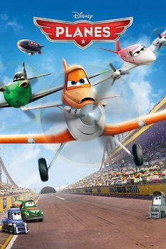 PLANES - movie teaser Poster