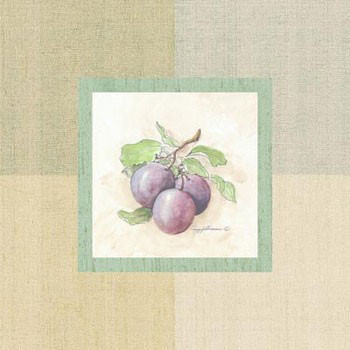 Plum Interior Art Print
