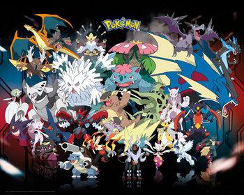 Pôster Pokémon - Mega