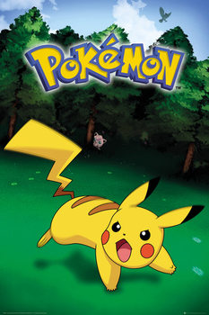 Poster  Pokemon - Pikachu Catch