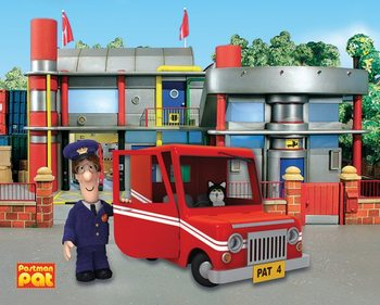 Postman Pat - SDS Office Poster