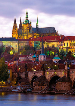 Prague – Prague castle Poster