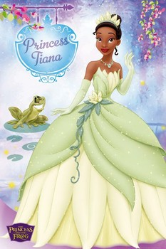 PRINCESS AND THE FROG TIANA Poster