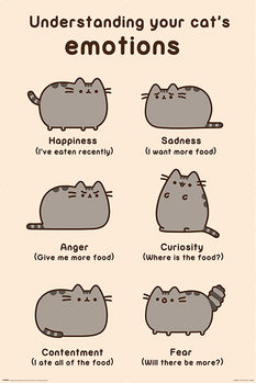 Pusheen - Cats Emotions Poster