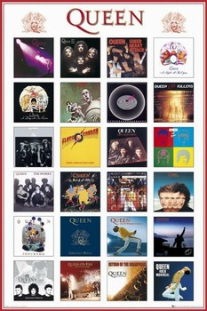 Queen - covers Poster
