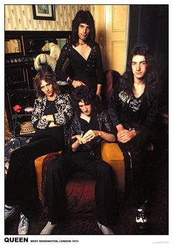 Poster Queen - London 1974