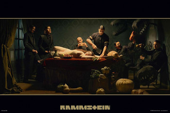 Rammstein - album cover Poster