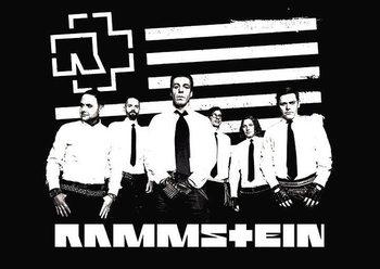 Rammstein - logo stripes Poster