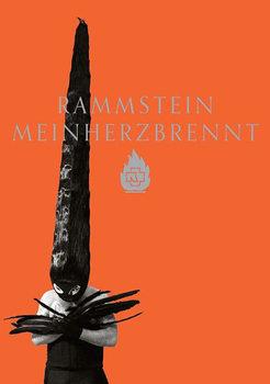 Rammstein - mein herz brennt Poster