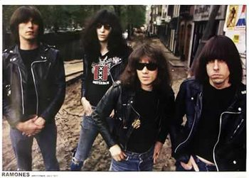 Poster Ramones - Amsterdam, July 1977