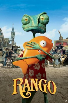 Poster  RANGO - one sheet