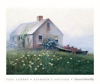 Raymond's Cottage Art Print