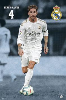 Real Madrid 2019/2020 - Sergio Ramos Poster