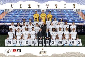 Real Madrid 2019/2020 - Team Poster